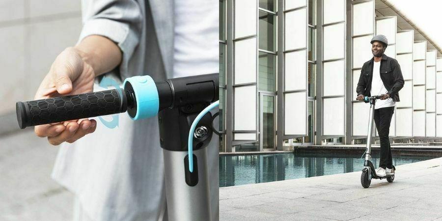Cecotec Patinete eléctrico Bongo Serie A diseño urbano fácil de acelerar